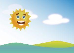 sunny disposition with an ostomy